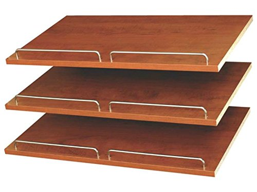 - Closet Organizers Shoe Shelves (Set of 3) Finish: Cherry