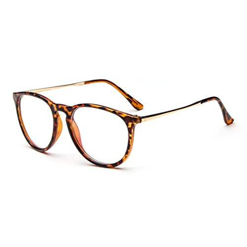 LOMOL Classic College Retro Style Personality Transparent Glasses For Men&Women(C2)