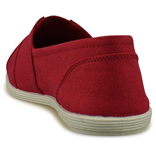 Everyday Red Fashion Shoe Easy Standard Women's Casual Premier Slip Walking On xgqw7YFvq