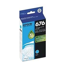 Epson DURABrite Ultra 676XL Ink Cartridge - Cyan. DURABRITE ULTRA CYAN INK CARTRIDGE I-SUPL. Inkjet