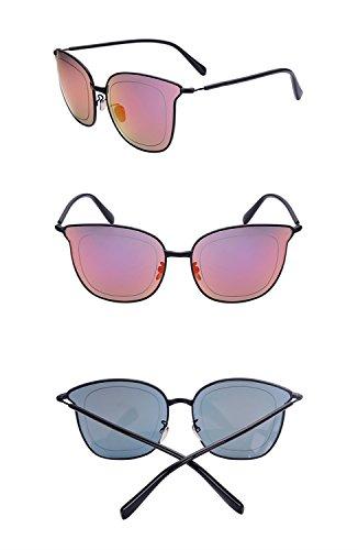 grande de protecciónn Color marco C A reflectante sol de Lente de de X226 amp;Gafas Gafas personalizadas amp; Gafas color de cine sol q4SgE87A