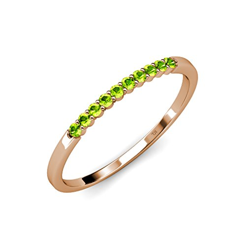 0.25 Ct Peridot Ring - 5