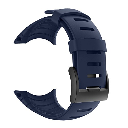 Suunto Core Strap, Rubber Replacement Watch band for Suunto Core SS014993000