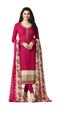 Kameez Indian Suit - Ready Made New Designer indian/pakistani fashion salwar kameez for women VF (LARGE-42, Pink)