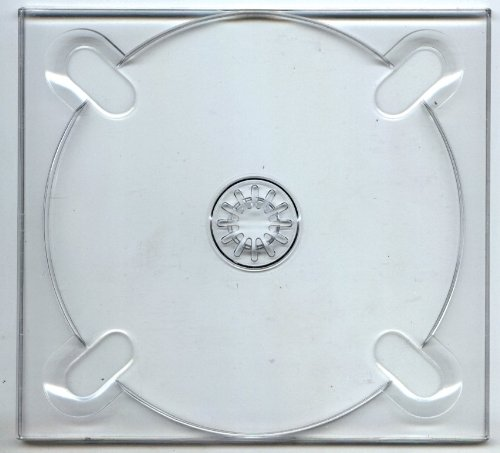 (25) Clear Digipak Glue In CD Digi Trays / Inserts - Cd Holder Square