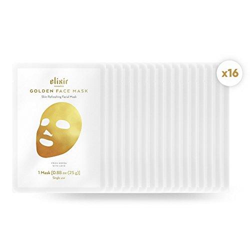 gold korean face mask collagen