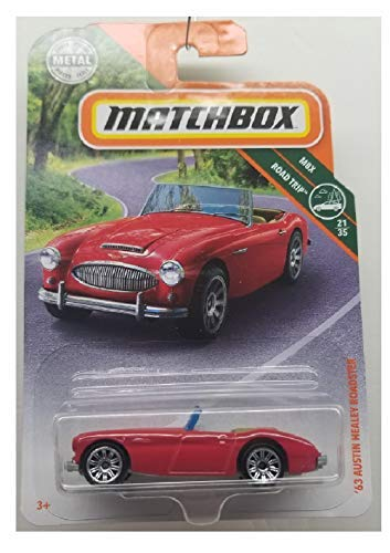 (Matchbox 2019 MBX Roadtrip '63 Austin Healey Roadster 87/125,)