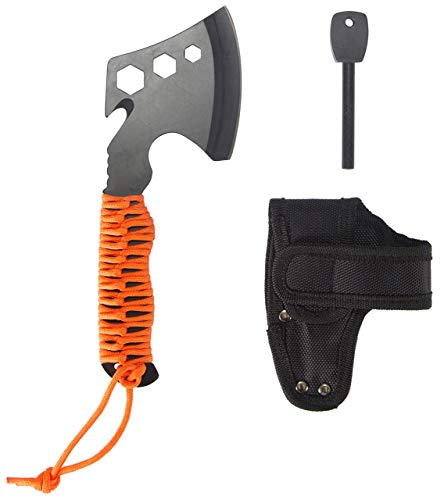 Stansport para Hatchet with Rope Handle & Fire Starter (Renewed)