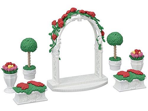 실바니안 패밀리 타운 시리즈 로즈 아치・flowerpot