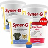 3PACK SynerG Digestive Enzymes Granules (1362 g) + FREE Joint Treats Minis