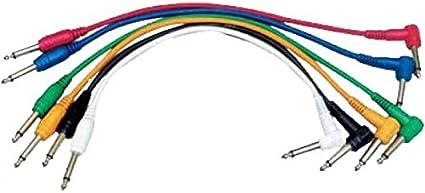 Eurorack c/âbles de patch mono mini jack 3,5mm lot de 5 5 longueurs // 10 couleurs disponible