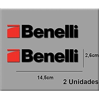 Ecoshirt 7H-HAC3-WTGV Stickers Moto Benelli R16 Aufkleber Decals Autocollants Adesivi, Red Black: Automotive
