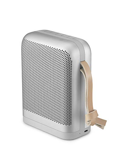 Bang & Olufsen Beoplay P6 Portable Bluetooth Speaker with Microphone - Natural - 1140046 (Best Metal Albums To Own On Vinyl)