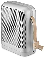 Bang & Olufsen Beoplay P6 Bluetooth Speaker, Powerful and Portable Wireless Splash and Dust Resistant Speaker, with up to 16 Hours of Rich and Powerful Playtime, Natural