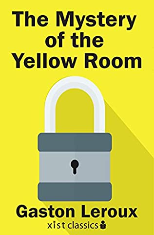 Book Cover Of The Mystery Yellow Room
