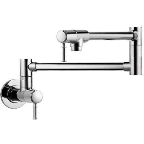 hansgrohe chrome kitchen faucet - 9
