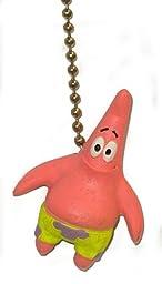 Spongebob square pants sponge bob PATRICK Starfish Ceiling FAN PULL light chain ornament (Patrick - Single)