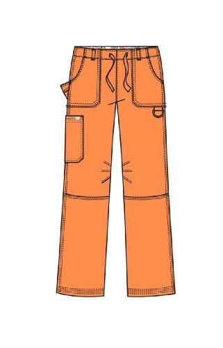 (KOI 701 Women's Lindsey Scrub Pant Sunset X-Small Tall )