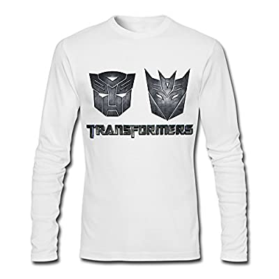 Transformers T Shirt For Men Long Sleeve