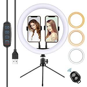Aro de luz barato para fotografía selfie y para grabar los mejores tik tok´s