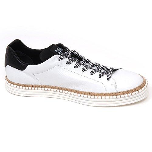 D0644 sneaker uomo HOGAN REBEL R260 scarpa bianco/nero shoe man Bianco/Nero