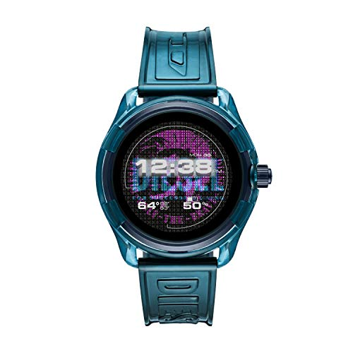 Diesel Fadelite Smartwatch-Blue Silicone
