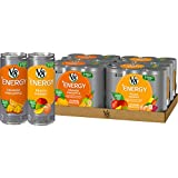 V8 +Energy Juice Drink with Green Tea Variety Pack, Orange Pineapple & Peach Mango, 24 Count