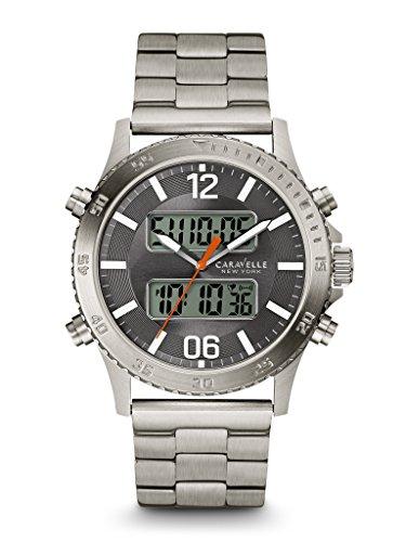 Caravelle New York Men's 43B141 Digital Watch ()