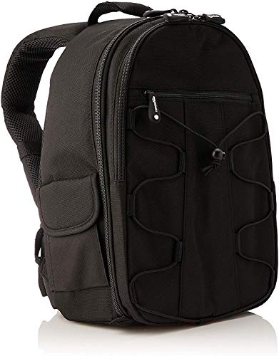 AmazonBasics Backpack for SLR/DSLR Camera and Accessories - 11 x 6 x 15 Inches, Black from AmazonBasics