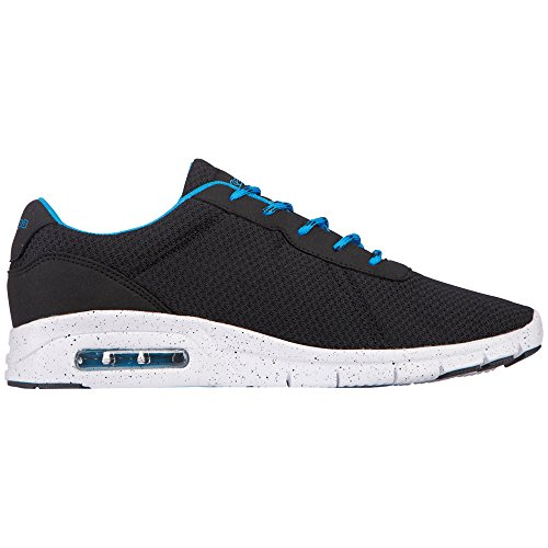 Kappa Cello - Zapatillas Unisex adulto Negro - Schwarz (1160 Black/Blue)
