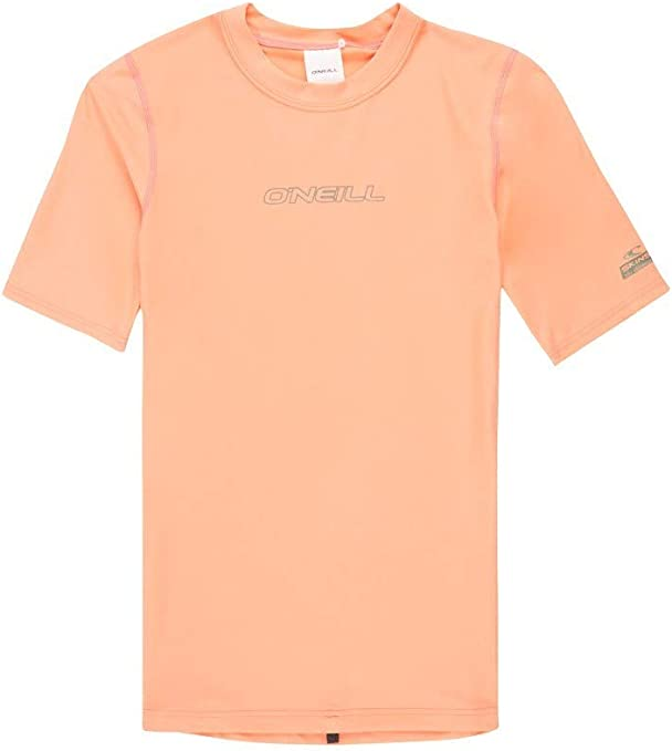 ONeill - Camiseta de manga corta para mujer (protección UV), color rosa: Amazon.es: Deportes y aire libre
