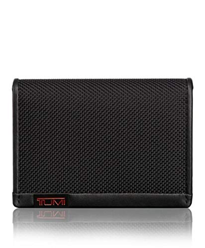- Tumi Men's Alpha ID Lock Gusseted Card Case Wallet, Black, OneSize