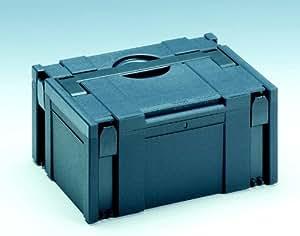 Tamaño del maletín Systainer III 3 210 x 400 x 300 mm gris caja de compartimentos