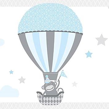 Anna Wand Bordüre selbstklebend HOT AIR Balloons - Wandbordüre ...