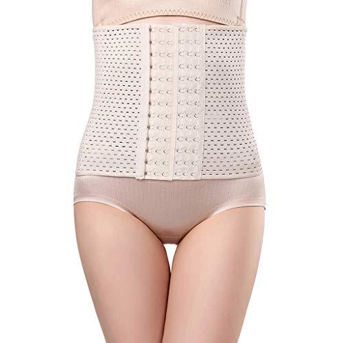 AIEason Waist Shapewear Cincher Body Shaper Corset Postpartum Belly Band Wrap C Section Tummy Control Binder Girdle for Women Khaki