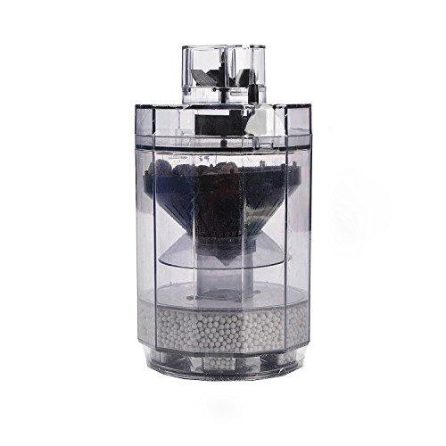 Saim Aquarium Filter Automatic Suction Cleaner Multi-Functional Bio Filter Cartridge with Bio Balls for Fish Tank Filte