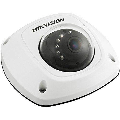 Hikvision Usa DS-2CD2532F-I (2.8MM) Outdoor Mini Dome Camera, IP66, 3 MP, IR to 10 Meters, PoE and 12VDC, 2.8 mm Lens by Hikvision