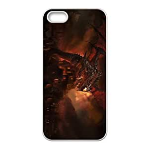 world of warcraft iPhone 5 5s Cell Phone Case White PSOC6002625621480
