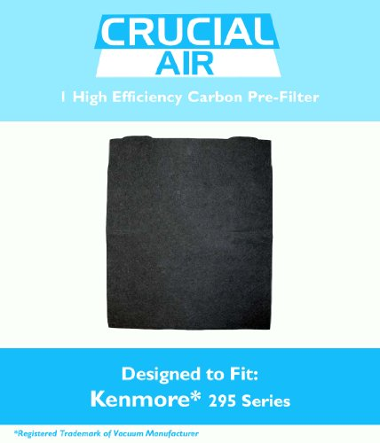1 High Efficiency Kenmore 295 Series Carbon Pre-Filter, Compare to Filter Part #83378,