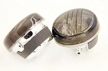 XKH B00Y7CDYYQ Motorcycle Turn Signal Lens Compatible with Suzuki Boulevard M50 C50 Vl800 Volusia C90 Intruder M109R C