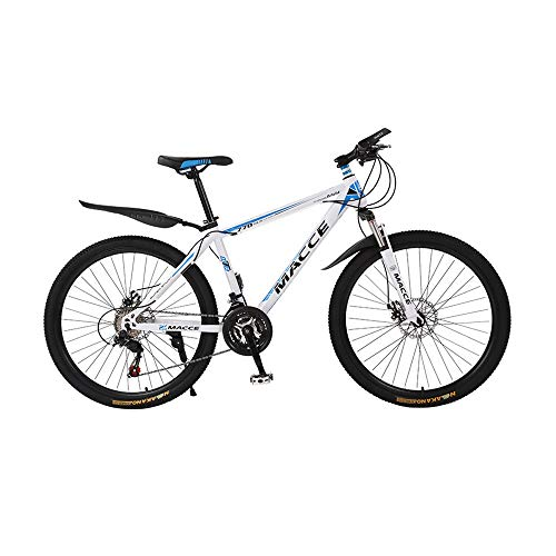 GYZLZZB 26in Mountain Bike, Full Suspension Road Bikes with Disc Brakes, 21 Speed Bicycle Full Suspension MTB Bikes for…