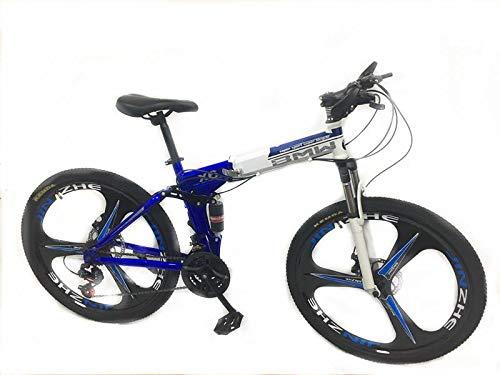 Bmw Bicycle >> 26 Inch Bmw X6 Mountain Bike Suspension Folding Bicycles