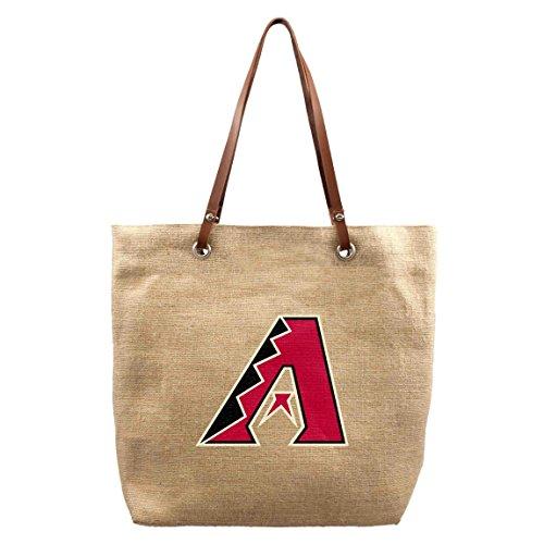 MLB Arizona Diamondbacks Burlap Market Tote