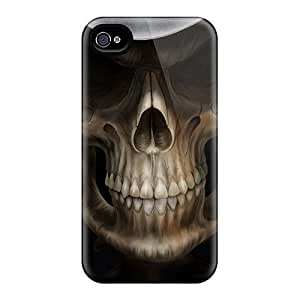 EZLOMjw1684EMZZC Death Awesome High Quality Iphone 4/4s Case Skin