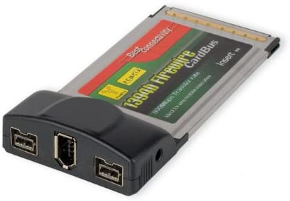 Amazon Best Connectivity Firewire 2 Port 1394b And 1 1394a 2B1A PCMCIA Cardbus Electronics