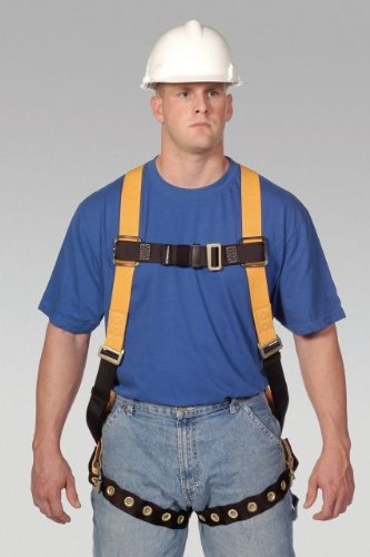 Miller Titan by Honeywell TF4500/UAK Polyester T-Flex Stretchable Harness, Universal