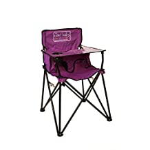 ciao! Baby Portable High Chair, Purple with Carrying Case