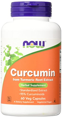 NOW Foods Curcumin Extract 95% 665 mg, 60 Veg Capsules