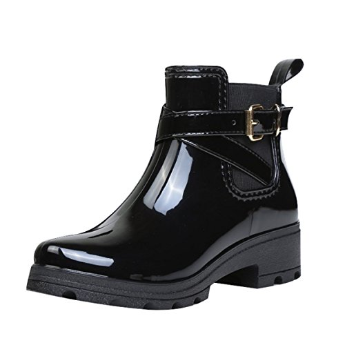 Femme Joyorun Boots Chelsea Noir Joyorun Boots Z0npRq
