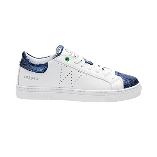 Pelle Bianco Sneakers S170232 WOMSH Donna xZ0dC